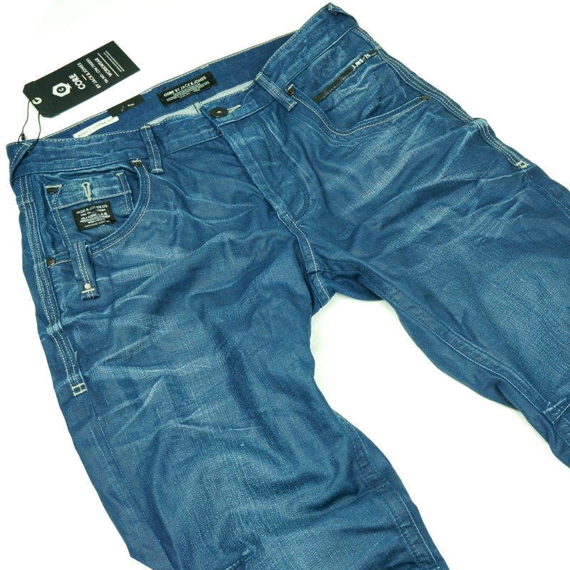 powel jos 416 core loose fit men herren jeans hose d g neu ebay. Black Bedroom Furniture Sets. Home Design Ideas