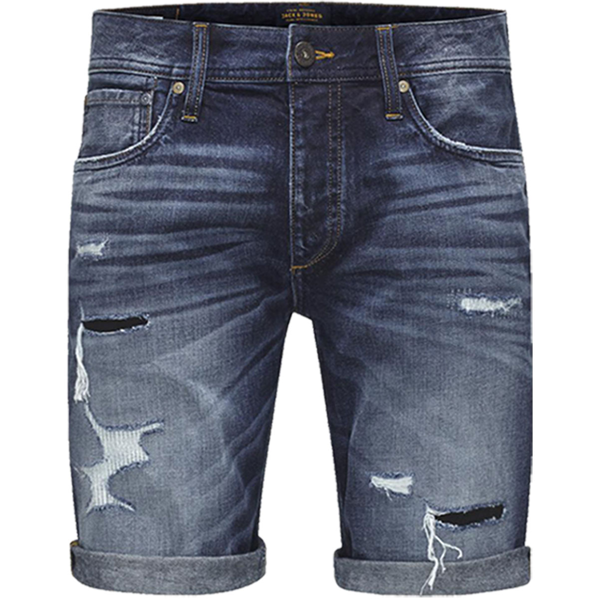 jack jones herren jeans shorts rick denim kurze hose bermuda capri vintage ebay. Black Bedroom Furniture Sets. Home Design Ideas