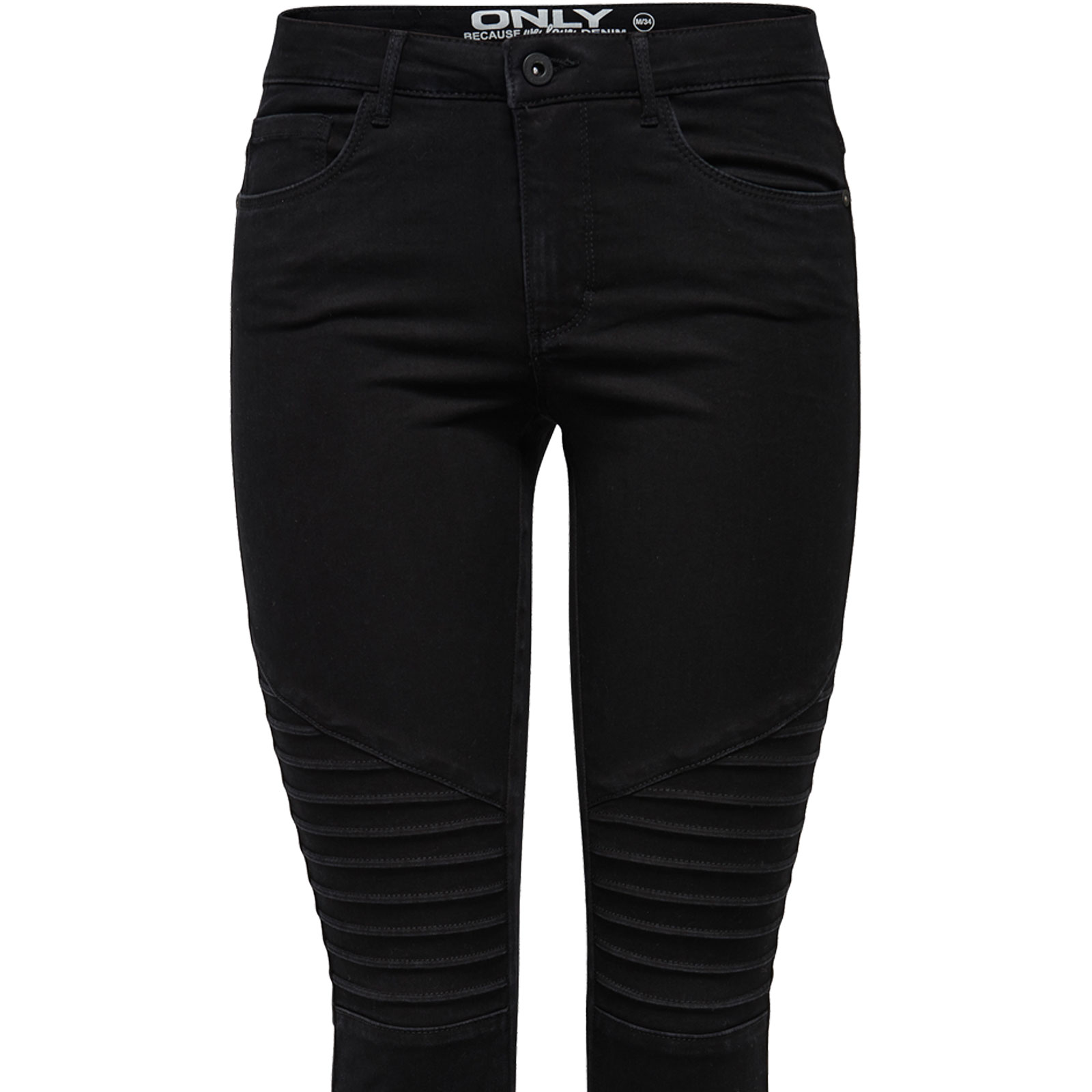 only damen leggings jeans royal reg skinny biker hose pim 600 schwarz black neu ebay. Black Bedroom Furniture Sets. Home Design Ideas